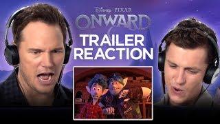 Onward Trailer Reaction | Tom Holland and Chris Pratt