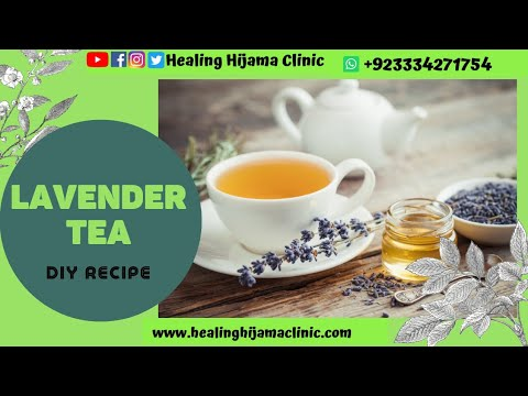 LAVENDER TEA/ LEMONADE BENEFITS AND HOW TO MAKE (urdu)