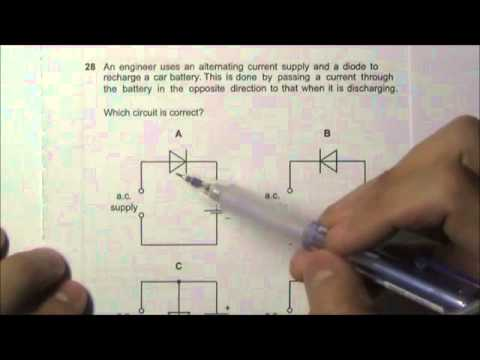2009 O' Level Physics 5058 Paper 1 Solution Qn 26 to 30