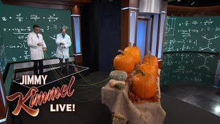 Amazing Experiments with Science Bob Pflugfelder - Exploding Pumpkin Fountains