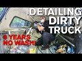 Detailing Dirty Truck Interior After 9 Years Chevrolet Silverado