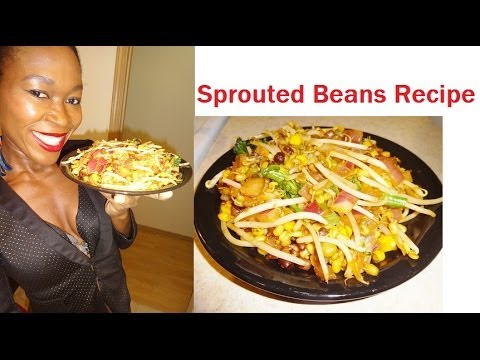 Delicious Sprouted Vegan Dinner Recipe
