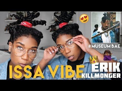 #MuseumBae ERIK KILLMONGER Inspired Hair - Black Panther Hairstyle