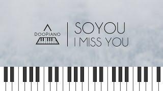 Goblin Ost Ec 86 8C Ec 9C A0 Soyou I Miss You Piano Cover