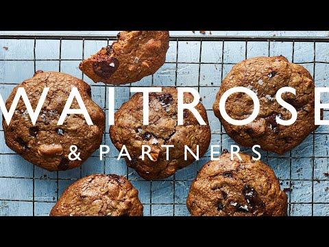 Chocolate, Tahini, Cashew And Spelt Cookies | Waitrose