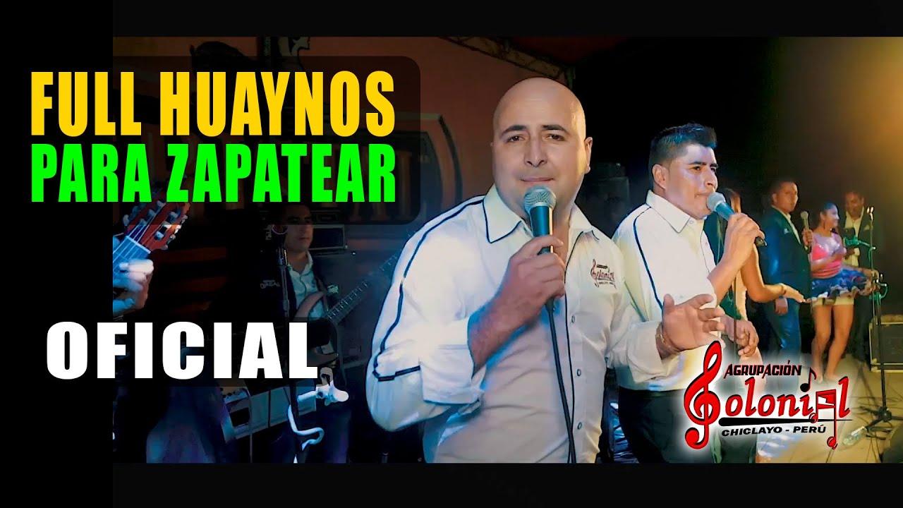 SOLO HUAYNOS  CON AGRUPACION COLONIAL DE CHICLAYO  2019 EN CONCIERTO LIMA PERU