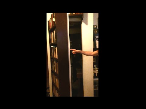 Super Secret Bookshelf Door - 2015