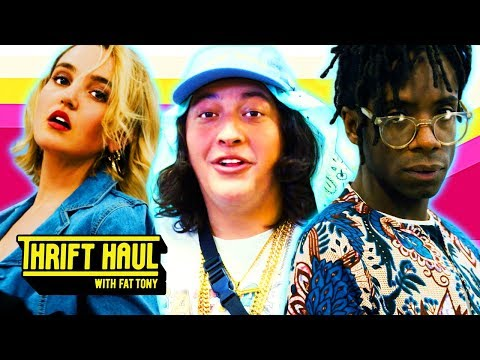 Tinder Date at Taco Bell ft. Tabasko Sweet | Thrift Haul w/ Fat Tony