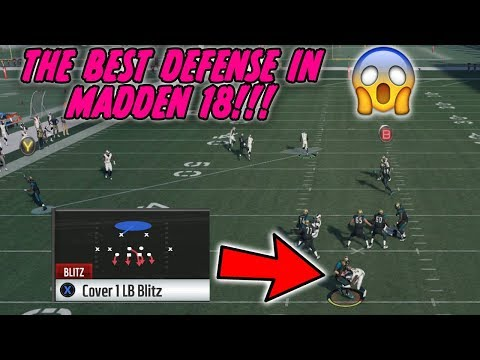 THE EASIEST LOCKDOWN DEFENSE IN MADDEN 18!! Dominate Your Opponents on the Defensive Side!