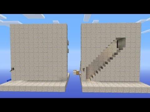 Hidden Wall Staircase Tutorial Minecraft Xbox 360 TU16