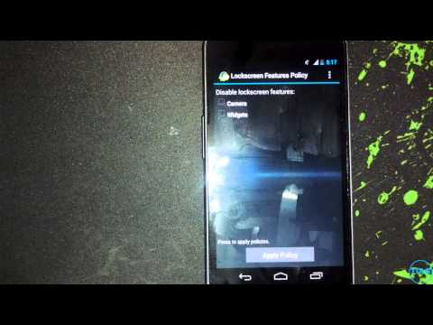 How to Remove Android 4.2 Lock screen (remove all pages)