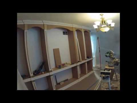 How to build bookcase time lapse 3 days in 10 minutes