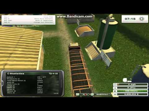 Farming Simulator 2013 Animals - Feeding Bulls