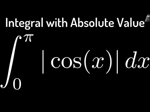 Evaluating the Definite Integral of  cosx  from 0 to pi