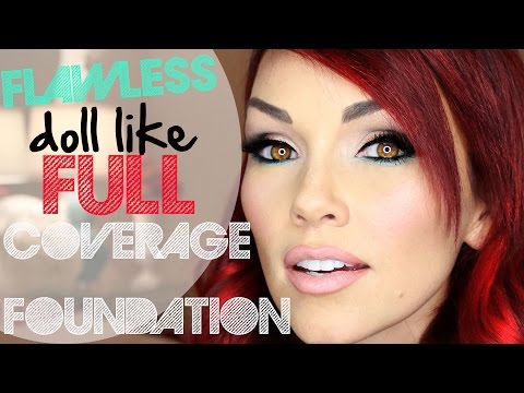 How To Get Flawless FULL Coverage Foundation
