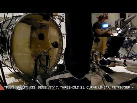 Triggera Bix V2 - Beater trigger - Bass drum trigger