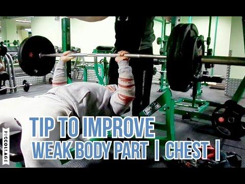 TIP TO IMPROVE WEAK, LAGGING BODY PART | CHEST | The Warrior