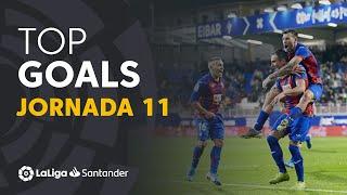Todos los goles de la Jornada 11 de LaLiga Santander 2019/2020