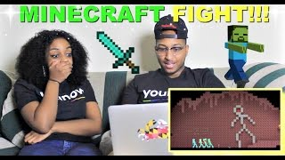 "Alan Becker ""Animation vs. Minecraft (Original)"" Reaction!!!"