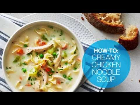 How to make creamy chicken noodle soup | Canadian Living