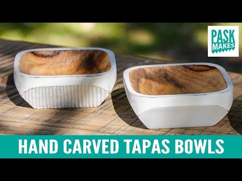 Hand Carved Tapas Bowls