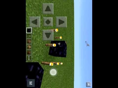 Portal de teletranporte no minecraft PE 0.10.4