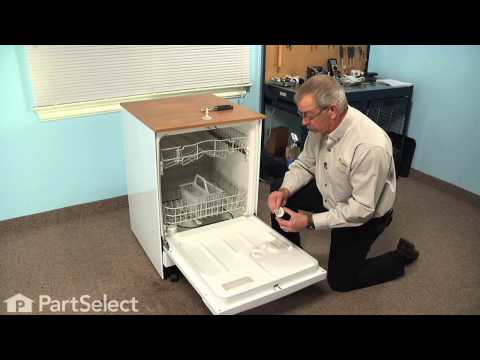 Dishwasher Repair- Replacing the Rinse Aid Fill Cap (GE Part # WD12X10284)