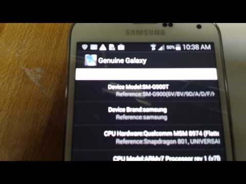 30 Second Test: Find out if your Galaxy S5 is Real or Fake!!!!!!!!!!!!!!!!!!!!!!!!