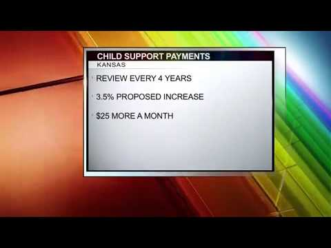 Child Support Payments Rise