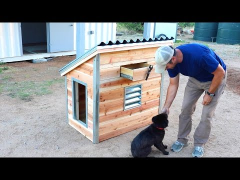 DIY Dog House for our new puppy - Quick and Easy How to