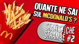 25 STATISTICHE STRAMBE che non sai sul McDonald