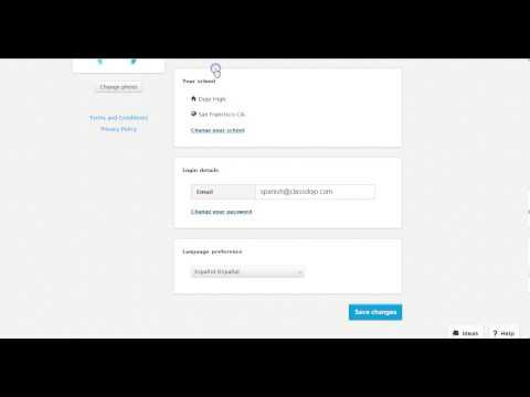How to change your language settings on ClassDojo