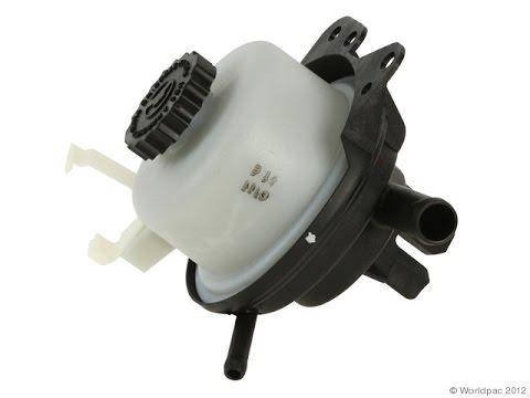 Replace the power steering pump reservoir - Dodge Grand Caravan