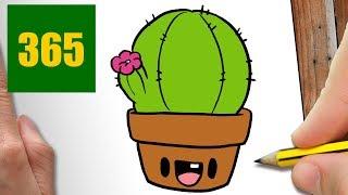 Comment Dessiner Cactus Kawaii Etape Par Etape Dessins Kawaii Facile