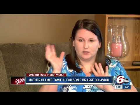 Parents warn their children are having hallucinations, threatening suicide while taking Tamiflu