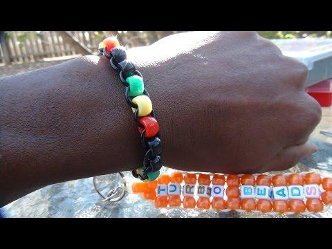 TurboBeads: Rasta Bead Bracelet Tutorial