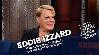 Eddie Izzard Believes Comedy Is