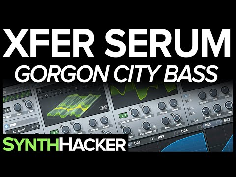 Serum Tutorial - Gorgon City 'Saving My Life' Deep House Bass