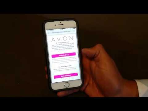 Avon save the app icon iphone tutorial