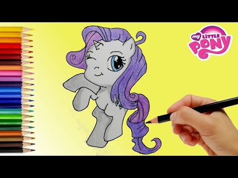 My Little Pony How to Draw Rarity Coloring Book My Little Pony.