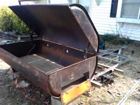 How to build a Utility Trailer/ Pig Cooker