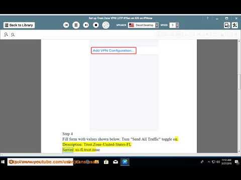 Set up Trust.Zone L2TP/IPSec VPN on iOS/iPhone