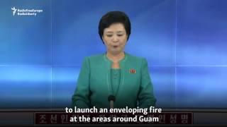 North Korean Army Threatens To Hit U.S. Island Of Guam