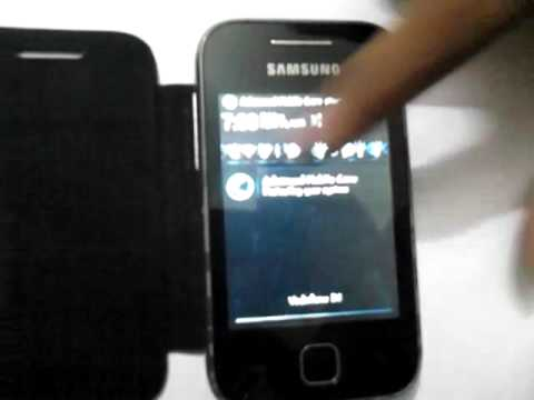 Samsung galaxy Y gt s5360 with 4.1.1 jelly bean an