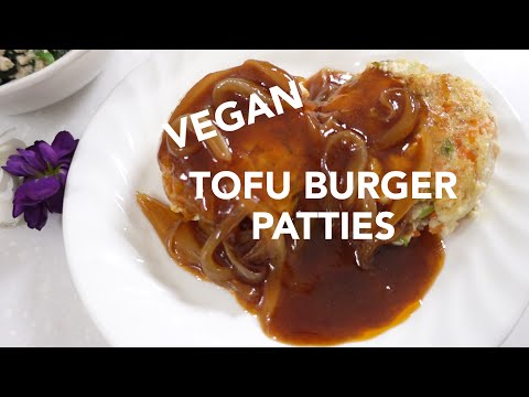 Easy Healthy Recipes: Vegan Tofu Burger (Easy Vegan Recipes) | Wishtrend