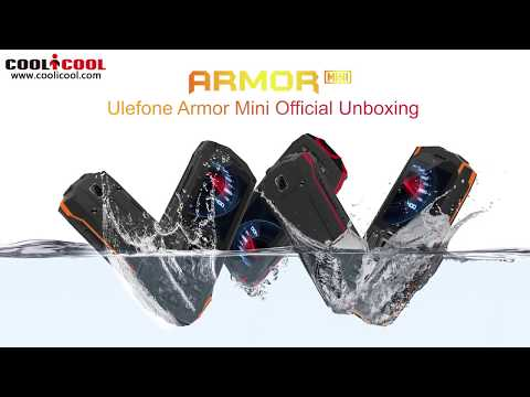 Ulefone Armor Mini Official Unboxing