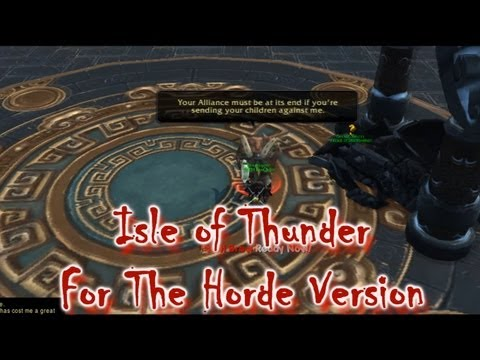 Eatmopie and The Isle of Thunder Horde version and a bit of a chat