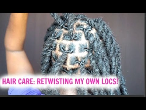 Hair Care Routine|How I Retwist My Locs