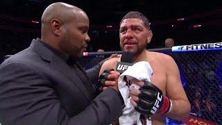UFC 266: Nick Diaz Octagon Interview