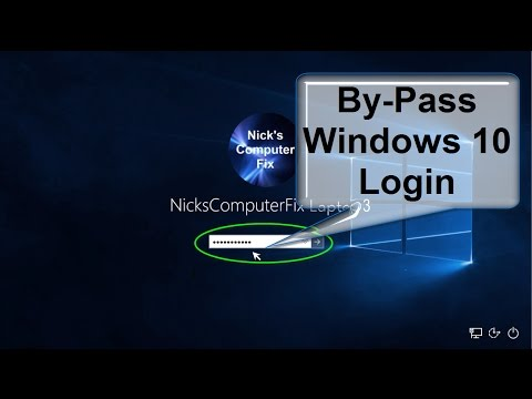 How to disable Windows 10 Login password & Lock Screen - Password bypass with Free Simple Step